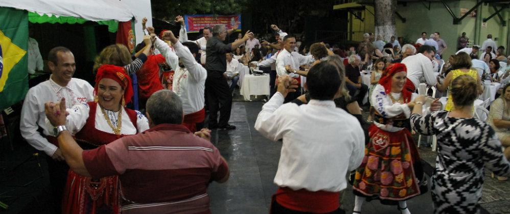 Confira todas as fotos da festa realizada no Clube Português