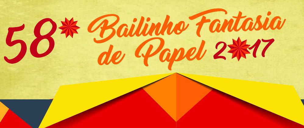 Bailinho Fantasia de Papel promete ser inesquecível em 2017!