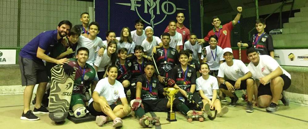 Português/FMO conquista Brasileiro de Hóquei Sub-15