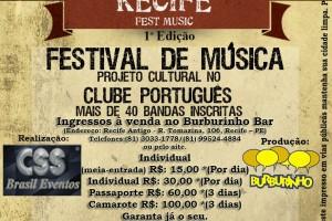 Recife Fest Music 40 bandas 4