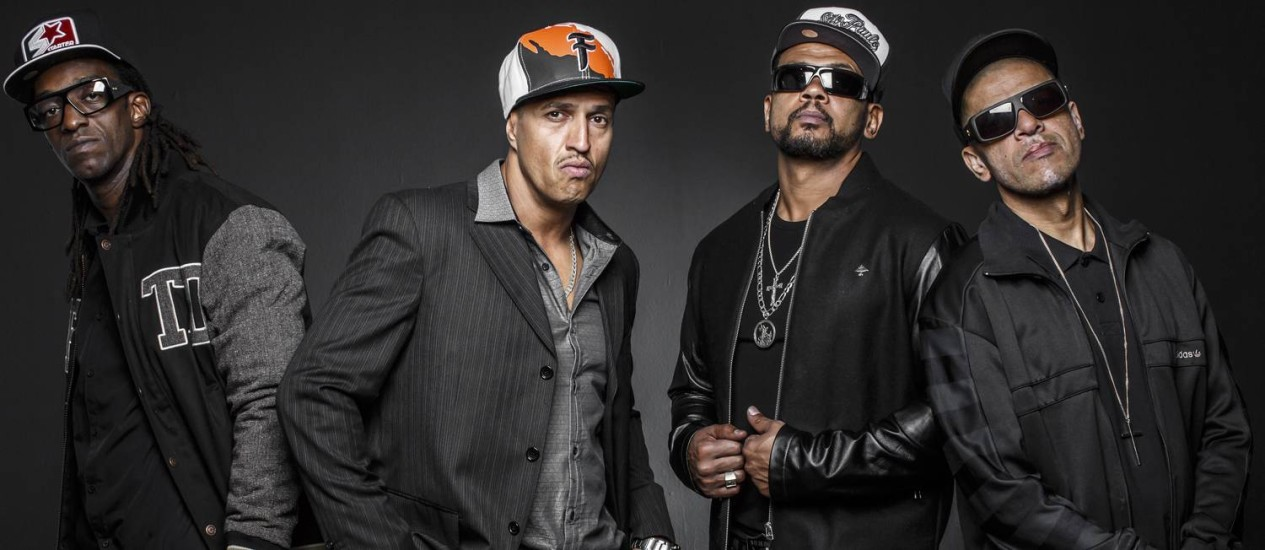 Banda de rap faz show especial no salão luso, em abril
